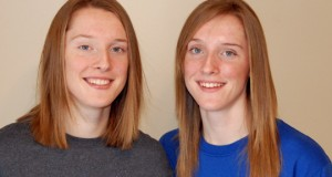 Twins Kadie and Amber Rolfzen, shown as freshmen in 2011, committed to Nebraska before they'd even enrolled in high school.