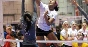 Simone Lee helped make up one of the most heralded volleyball recruiting classes in history for Penn State.