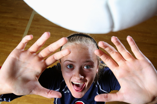 This is current FSU setter Hailey Luke. She is being used to illustrate this story because her mother, Jenni, is one of the best parents I have ever observed