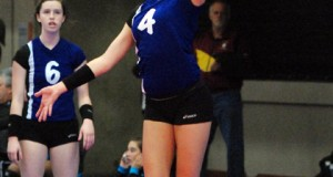 Senior Ace Kylie Pickrell and TAV 18 is the No. 1 team in the Southwest Region for the 18s Division.