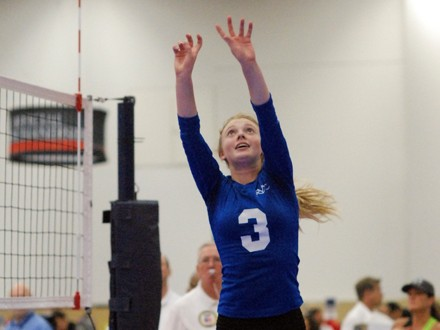Serrano setter Sedona Hansen is one of two dozen or more players affected by a recent CIF Southern Section ruling