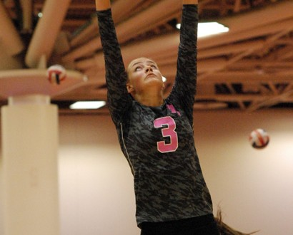 Sophomore setter  Madison Lilley will be a peach of a setter for the Georgia Bulldogs