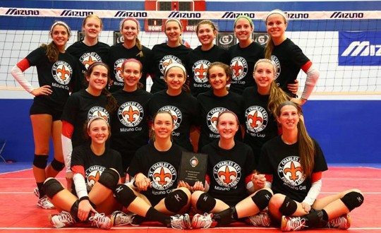 Benet remained undefeated by winning the Mizuno Cup on Saturday, earning the Redwings a spot in our top 25