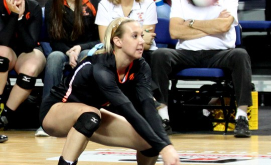 Jordan Smith helped key Solon's first-ever volleyball title