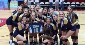 Helias Catholic finished up unbeaten and won the Missouri Class 3 title, honoring a fallen alumna in the process