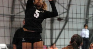 Laguna Beach's Alyse Ford goes up for a shot Monday, but it was TAV that walked away with the 18 Open crown.