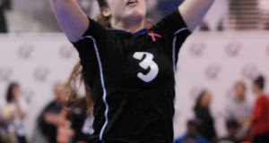 Setter Ashley Brown, one of six newcomers to TAV 17 Black this year, played a big role in her team's championship run in 17 Open