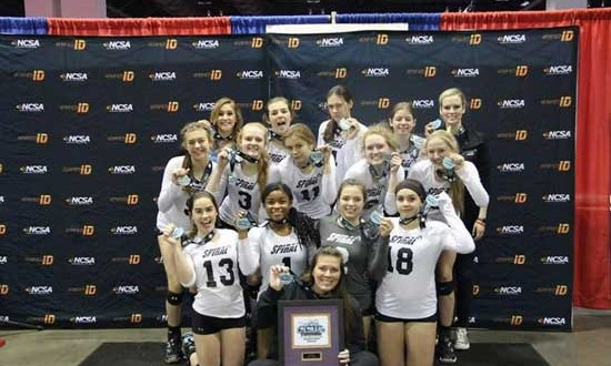 Spiral 15 poses with the silver medals earned last week in qualifying for the USA Division at Crossroads. Scroll down to see which member made this week's Dream Team.