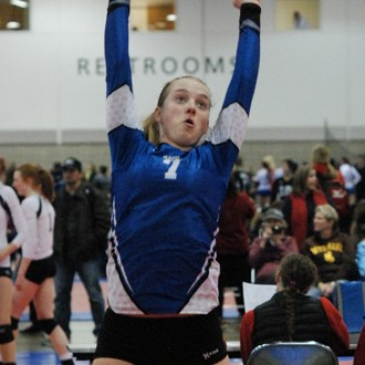 Sydney Lostumo was terrific at setter in her first starring role for Aspire after missing all of last year with a knee injury