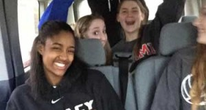 Legacy 15 Elite has fun during its 4.5 hour drive to Indianapolis for last weekend's MEPL. The club is turning around and making the same drive for MEQ.