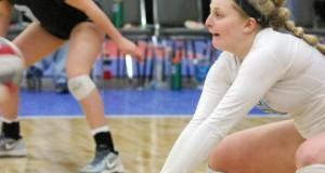 Rockwood Thunder libero Lauren Wacker was on her game last weekend in Louisville