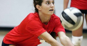 Setter Paige McKnight has Georgetown among the top 30 classes for the first time in some time