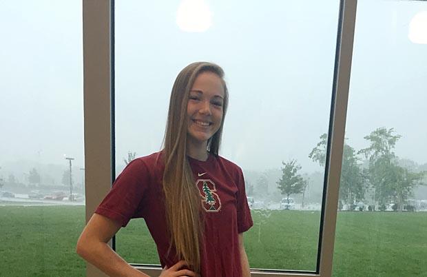 Jenna Gray sporting her future digs