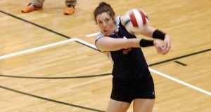 Kamryn Malloy did everything for SPVB 16 Elite and was a joy to watch