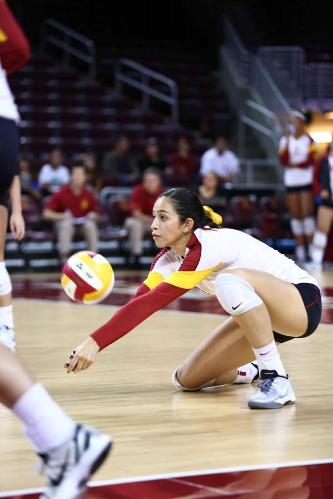 Sam Bricio and No. 14 USC have a huge opening weekend, taking on No. 8 North Carolina and No.  22 BYU. (Jon Kondrath, USC Sports Information)