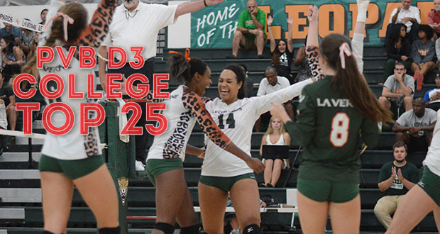 La Verne cracks the Top 25 for the first time this season. Go to Page 2 to see where. (La Verne Athletics)
