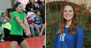 Megan Crabtree, left, and Lanie Wagner are two players from the Class of 2018 Club Watch List.