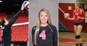From left to right, Capri Davis, Whitney Foreman and Val Green are three sophomores on our Class of 2018 Watch List.