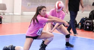 Central Cal defender Jocelyn Rodriguez was one of 1,044 standouts at the 2016 PrepVolleyball.com Unsigned Showcase, presented by Spalding