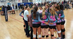 Coast 15s, one of the few nationally-ranked 15s teams from So Cal in action Sunday, huddles up against Sunshine Westside.