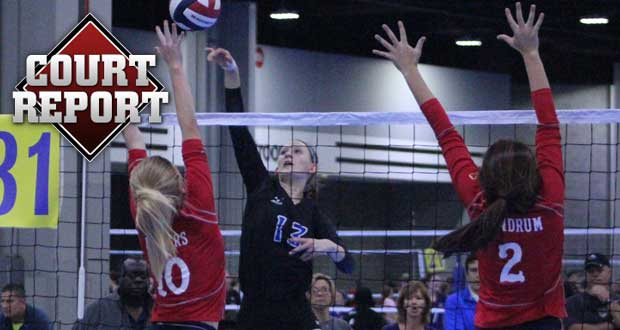 Elevation 15s' Julia Wilkins (13) is part of this week's Mid-Season Risers in Court Report. Keep reading to see the full list and much more from the qualifying scene.