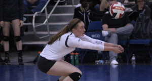 MN Select's Jen Mosser in serve receive during Sunday's action. Mosser was one of many standout performers as Junior Nationals wrapped up.