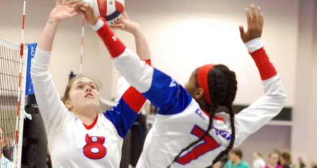 Abby Gargus (8) and Markenzie Benoit were stellar for LoneStar, which came up just short in its 17 Open qualifying effort