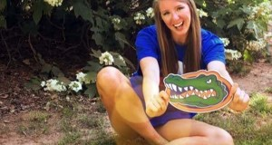 Thayer Hall is making folks in Gainesville smile as wide as she after her recent commitments to the Gators