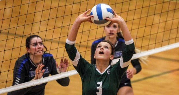 Eagle (ID) setter McKenzie Lee hopes to lead the Mustangs to glory this fall