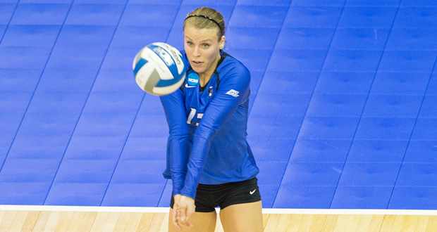Jess Bird has been a mainstay in the Creighton lineup since arriving on campus. (Courtesy Derrick Tuskan, Creighton Athletics)
