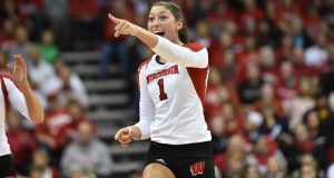 Lauren Carlini was the No. 1 Senior Ace from the Class of 2013 and has lived up to the billing as the best of the best. (Courtesy of Wisconsin Athletics)
