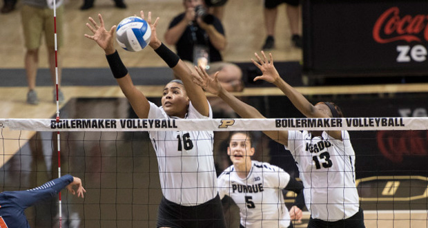 Purdue, ranked No. 12 in PVB's Top 50, plays host to No. 3 Minnesota and No. 4 Wisconsin in Big Ten play this weekend. (Courtesy of Purdue Athletics)