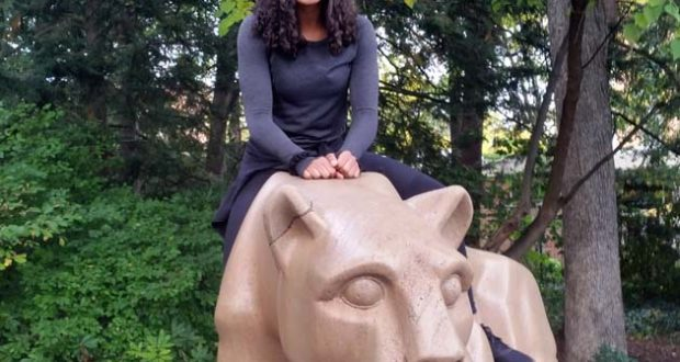Hard-hitting Lauren Clark decided to hop on board with the Nittany Lions