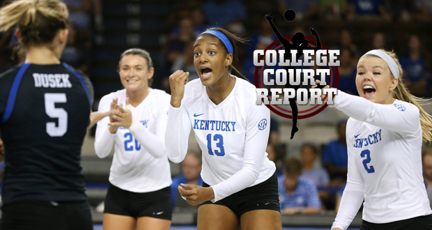 Kentucky's Leah Edmond is just one freshman having a terrific season. See the other top rookies so far in this week's College Court Report. (Courtesy of Kentucky Athletics)