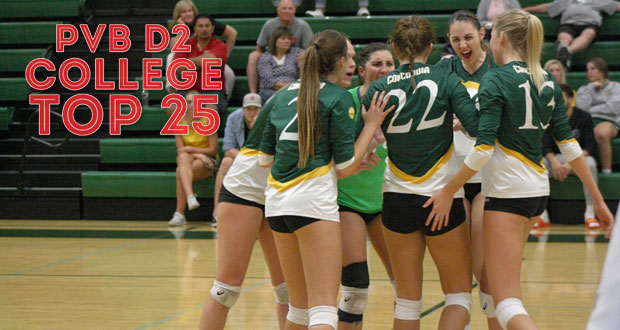 Concordia-Irvine has avenged both its losses this season and joins the Top 25. (Courtesy of Cammie Lewis, Concordia-Irvine Athletics)