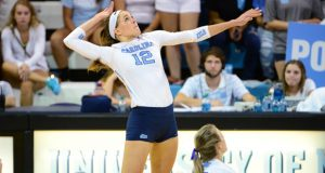 Julia Scoles helped give UNC the third-ranked Class of 2016. See how she is doing in our latest College Court Report. (Courtesy of Jeffrey A. Camarati, UNC Athletics)
