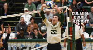 Colorado State's Katie Oleksak is just one of PVB's Class of 2016 Senior Aces thriving as a freshman. (Courtesy Don Reichert, CSU Athletics)