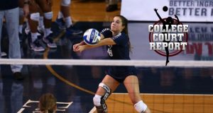 BYU's Mary Lake is just one Senior Ace making an immediate impact this fall. (Courtesy BYU Photo)