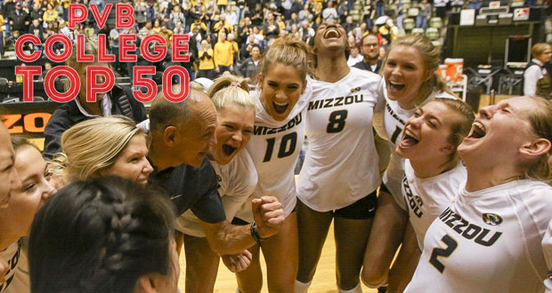 Missouri's upset of Florida was not only a crucial SEC result, it helped shaped this week's Top 50 Rankings. (Courtesy of Missouri Athletics)