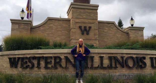 Erika Moore will be Leathernecking at Western Illinois