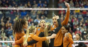 Texas had a roster full of players named to PVB's First, Second and Honorable Mention teams. (Courtesy of Texas Athletics)
