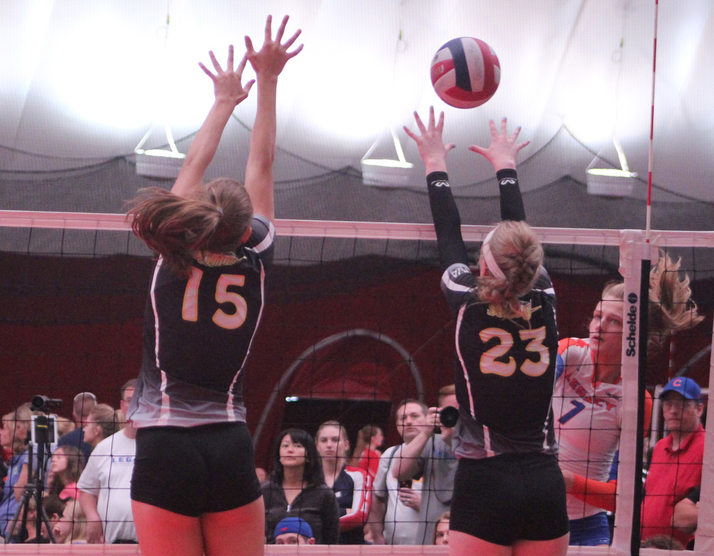 Legacy's Abbey Malinowski (7) gives Michigan two from the Top 50 Junior Recruits.