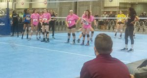 Plenty of coaches were on hand Friday night in D.C. for the PrepVolleyball.com Unsigned Showcase.
