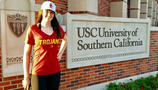 Abby Hansen will stay in the Pac and play for USC