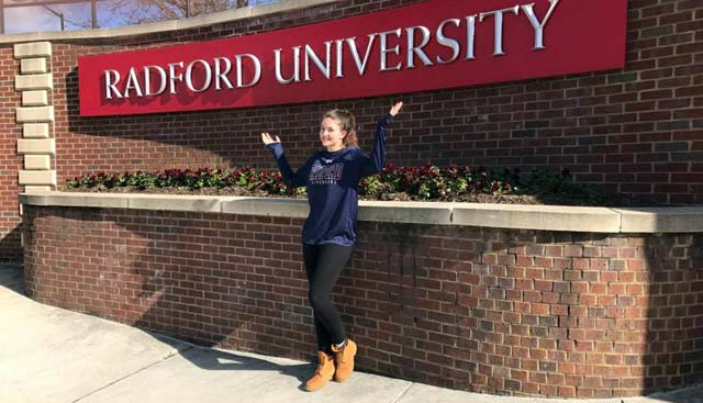 Sami Reitz is going to love Radford and vice-versa!