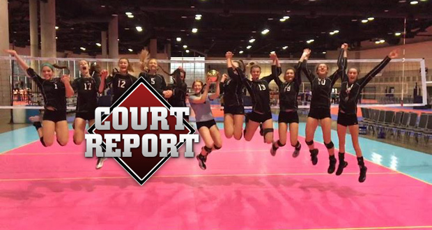 Co Jrs celebrates winning 15 Open at the Pacific Northwest Qualifier last weekend.
