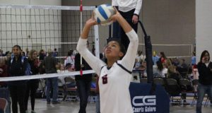 Millie Muir is already garnering attention playing up two age groups for Encore 15 Navy.