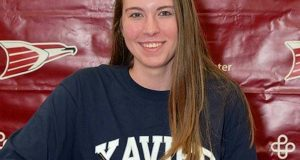 Maya Krause will make the volleyball coach and the dean at Xavier University very happy next year