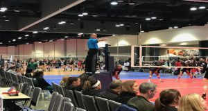 The majority of contests played for the 2017 Pacific Northwest Qualifier in Spokane, Washington are being held in the 92,000-square foot Spokane Convention Center. Other sites include Eastern Washington University and the HUB Athletic Sports Complex. This year marks the 20th anniversary of the PNQ in Spokane.