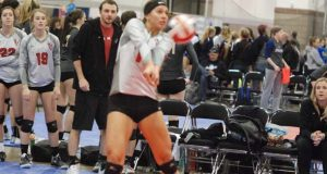 Kazna Tarawhiti, a hitter on Club V 17 Andrew, is a standout player that more need to get to know